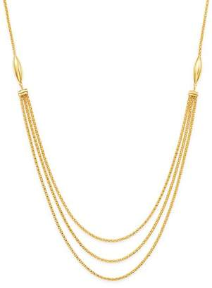 """Bloomingdale's Oval Three Strand Necklace in 14K Yellow Gold, 24"""" - 100% Exclusive"""