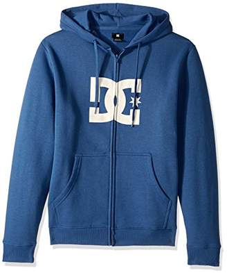 DC Men's Star Zip-up Sweatshirt Hoodie