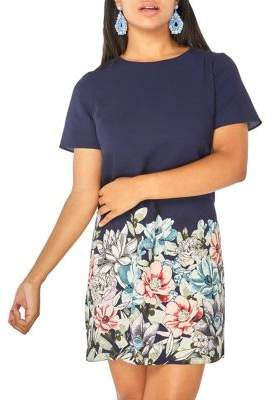 Dorothy Perkins Floral Placement Shift Dress