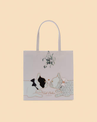 Ted Baker LANACON Large mistletoe icon shopper bag