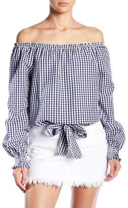 Sanctuary Claire Tie Front Shirt