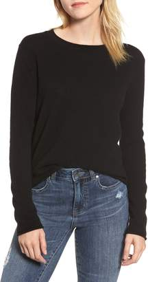 Velvet by Graham & Spencer Cashmere Slim Pullover