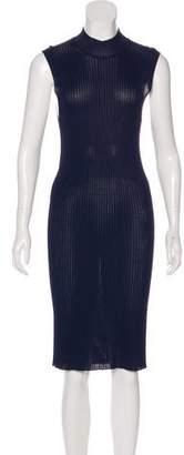 Calvin Klein Collection Short Sleeve Midi Dress