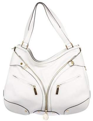 Versace Leather Medusa Hobo