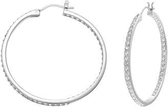 Swarovski Sommerset Medium Inside Out Hoop Earrings