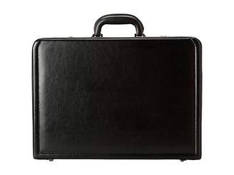 Kenneth Cole Reaction Manhattan Leather - 4-4.75 Expandable Computer Attache With Removable Computer Sleeve