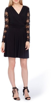 Women's Tahari Lace Fit & Flare Dress $148 thestylecure.com