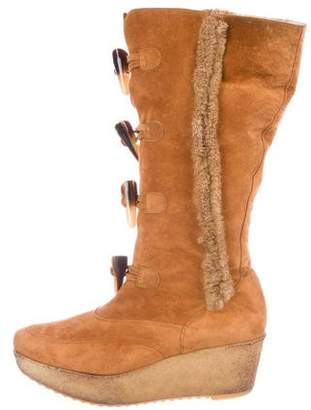 Robert Clergerie Toggle-Embellished Boots