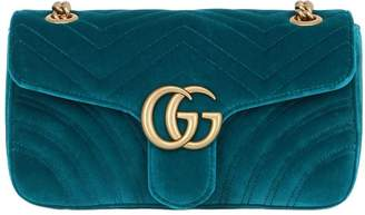 Marmont 2.0 Velvet Shoulder Bag Gucci DOPLVrA8
