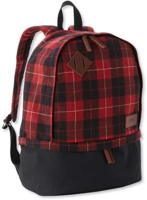 L.L. Bean L.L.Bean Teardrop Backpack, Plaid
