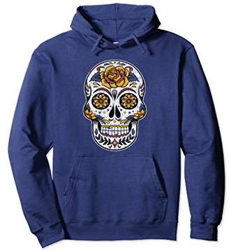 Skull Cinco de Mayo Hoodie Mexican Holiday Love Mexico