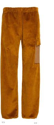 Acne Studios Payden Cotton-Corduroy Wide-Leg Pants Size: 46