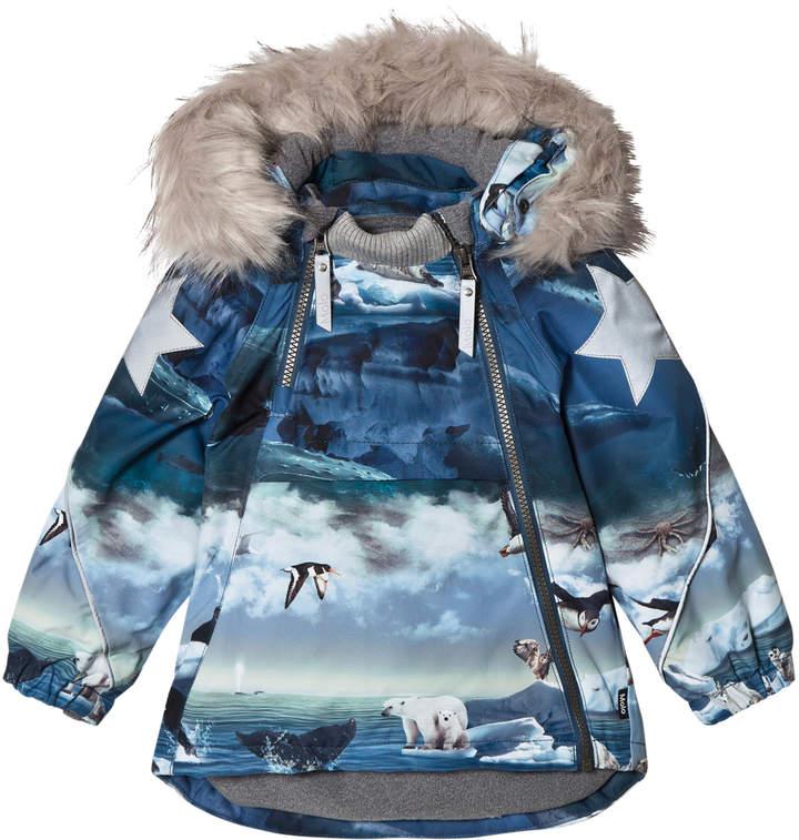 Molo Hopla Fur Jackets Arctic Landscape