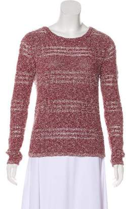 Rag & Bone Knit Scoop Neck Sweater Red Knit Scoop Neck Sweater