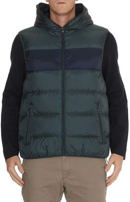 Michael Kors Block Chest Stripe Padded Vest