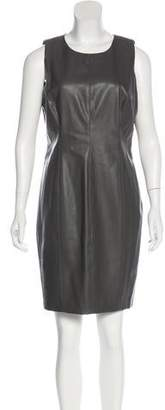 Lauren by Ralph Lauren Faux Leather Dress