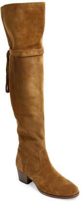 Frye Clara Tassel Over-The-Knee Suede Boot
