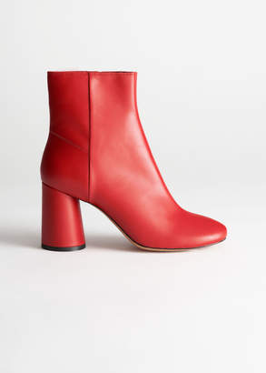 And other stories Leather Ankle Boots