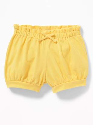Old Navy Paperbag-Waist Jersey Bubble Shorts for Baby
