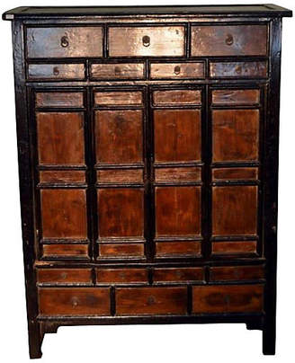 One Kings Lane Vintage Large Antique Armoire - FEA Home
