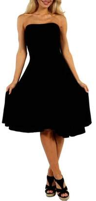 24/7 Comfort Apparel Women's Irresistible Black Party Dress