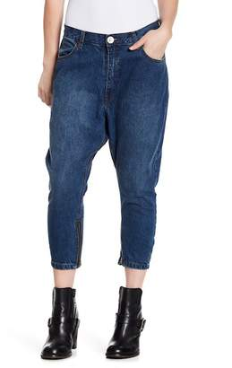 One Teaspoon Bad Seed Cropped Baggy Jeans