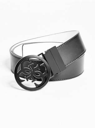 Reversible Faux-Leather Belt $45 thestylecure.com