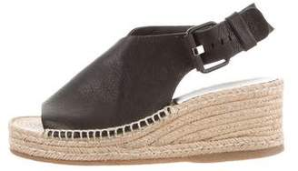 Rag & Bone Leather Espadrille Wedges