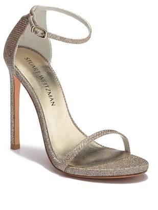 Stuart Weitzman Nudist Leather Sandal