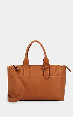 2c5bc9b00e56 BEIGE Jem + Bea Jemima Leather Diaper Bag - Beige