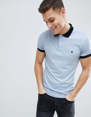 French Connection Contrast Collar Polo Shirt