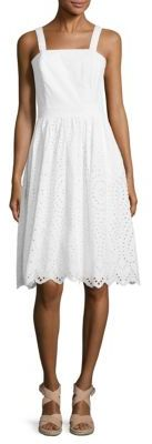 Vineyard Vines Strapless Eyelet Dress $228 thestylecure.com