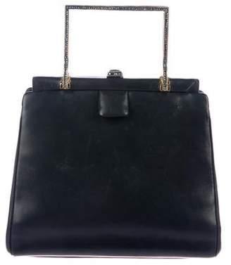 Judith Leiber Embellished Frame Bag