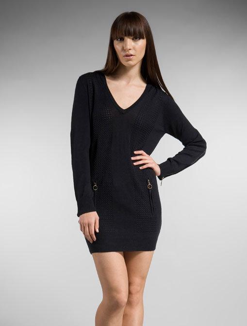 Jenny Han Zipper Sweater