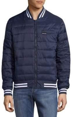 Members Only Varsity Puffer Jacket