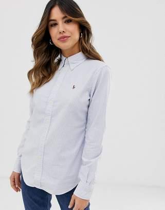 Polo Ralph Lauren classic stripe oxford shirt