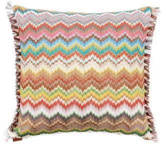 Missoni Home Virna Fringed Zigzag Cushion - Multi