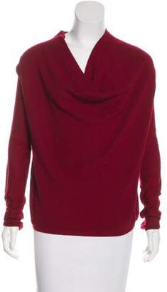 Donna Karan Cashmere-Blend Knit Sweater