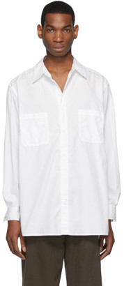 Yohji Yamamoto White Cotton Shirt