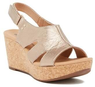 Clarks Annadel Bari Platform Wedge Sandal