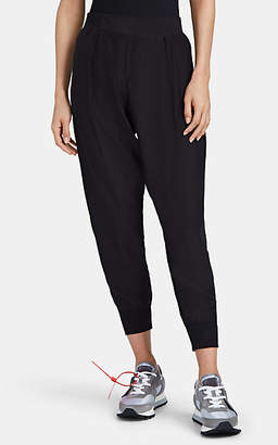ATM Anthony Thomas Melillo Women's Silk Charmeuse Sweatpants - Black
