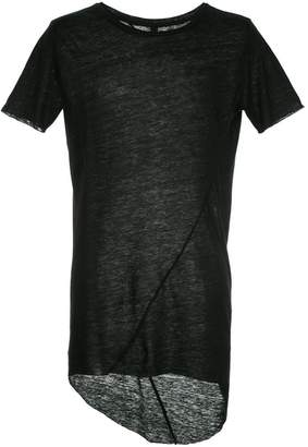 Army Of Me longline high low T-shirt