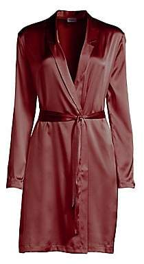 La Perla Women's Short Silk-Blend Robe