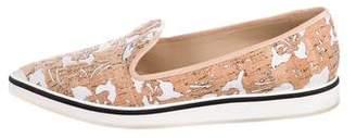 Nicholas Kirkwood Cork Slip-Ons Sneakers