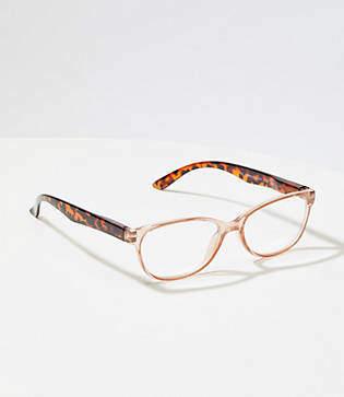 LOFT Rectangular Reading Glasses