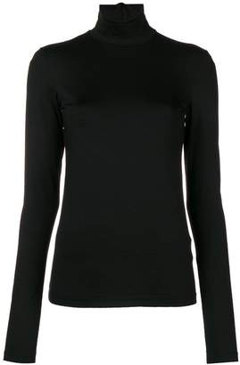 Jil Sander slim fit turtleneck blouse