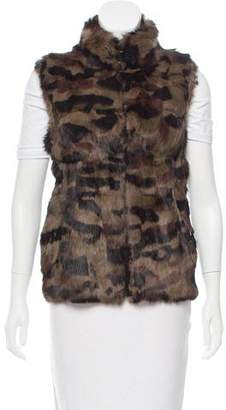 Jocelyn Reversible Fur Vest