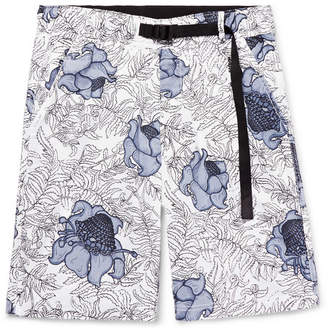 Nike Nrg Floral-Print Cotton Shorts
