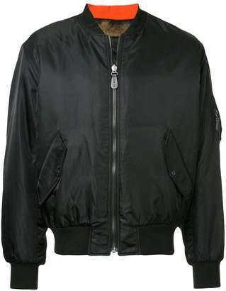 Yves Salomon long-sleeved bomber jacket