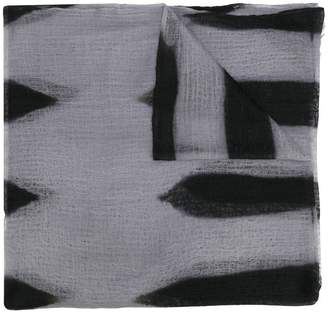 Suzusan long tie-dye scarf